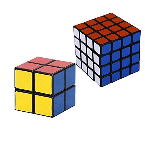 ShengShou 2x2x2 Puzzle Cube, Black (4*4*4(Speed), Black) - 1