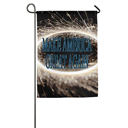 Make America Great Again Decorative House Garden Yard Flag Banner 12*18inch