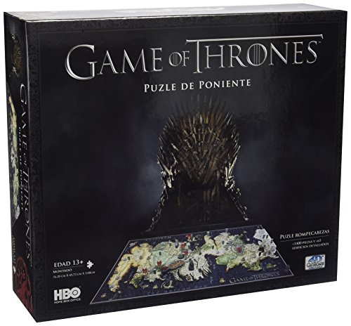 Juego de Tronos 51000 - Puzzle 4D (Eleven Force 10001) - Puzzle Juego de tronos Poniente 4d (1400pzs)