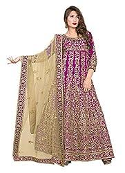 Surbhi Fashion-SDVI-ISHA10703-Designer Semi Stitched Dress Material