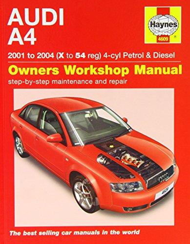 haynes repair manual audi a4 2002 2008 models covered. Black Bedroom Furniture Sets. Home Design Ideas