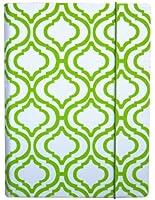 PUNCHCASE - Hansen - Étui pour Kindle - Treillis blanc/vert citron  (est compatible avec Kindle Paperwhite, Kindle et Kindle Touch)