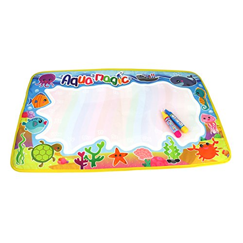 Coolplay-Undersea-Animal-World-Aqua-Doodle-Drawing-Mat-with-2-Magic-Pen-Children-Educational-Toys-142-X232inch