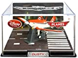 Disney / Pixar PLANES Exclusive 1:43 Die Cast Plane In Plastic Case Dusty {REGULAR Version}