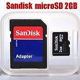 サンディスク microSDカード 2GB SD変換アダプタ付属 バルク品