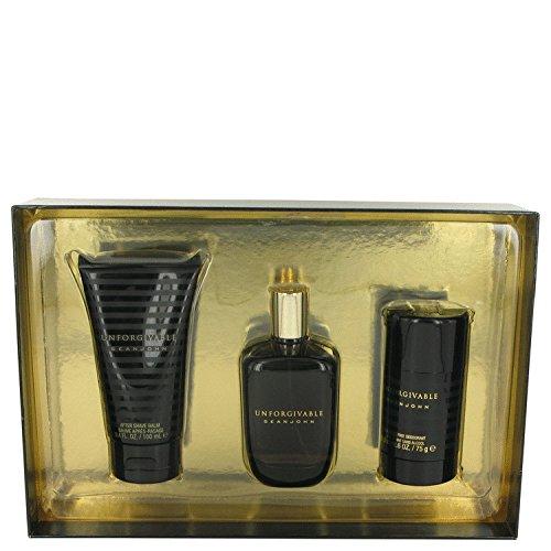 unforgivable-by-sean-john-gift-set-42-oz-eau-de-toilette-spray-34-oz-after-shave-balm-26-oz-alcohol-