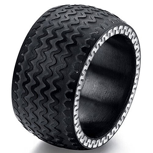 sumbonum-jewelry-mens-womens-stainless-steel-ring-vintage-novelty-tires-patterns-band-ring-13mm-blac