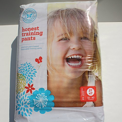 The Honest Company Training Pants (Robots & Trucks, Size 3T/4T) (Honest Company 4t compare prices)