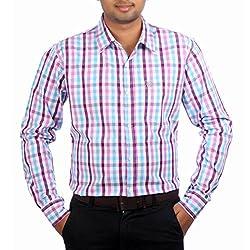 Aaduki Men's Casual Multi-Coloured Shirt-38