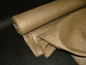 Pandoras Upholstery 10 m Quality Hessian Fabric Craft, Brown by Pandoras Upholstery