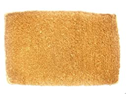 Imports Decor Coir Doormat, Plain Coco, 22-Inch by 36-Inch