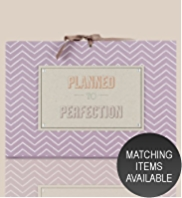 Chevron Collection Concertina Wedding Planning File