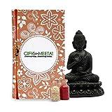 Holy Package for Rakhi-GIFTS112052,Rakhi 1, Bottles of Roli and Chawal 1, Card 1, Buddha 1, raksha bandhan gifts, rakhi special gifts, Special Raksha Bandhan Gift Pack