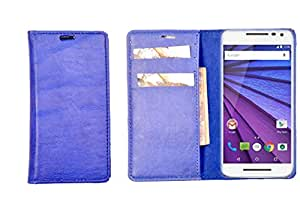 R&A Pu Leather Wallet Case Cover For Samsung Galaxy Core Prime