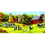 Feeding Time 1000pc Jigsaw Puzzle by Linda Picken