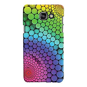 ColourCrust Samsung Galaxy A7 A710 (2016 Edition) Mobile Phone Back Cover With Colourful Pattern Style - Durable Matte Finish Hard Plastic Slim Case