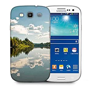 Snoogg Abstract Sea And Trees Designer Protective Phone Back Case Cover For Samsung Galaxy S3
