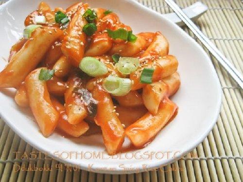 Instant Rice Korean Korean Instant Ddukbokki