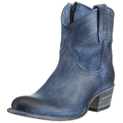 Frye Women's Deborah Shortie Boot Blue 77857BLU8 6 UK D