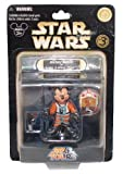 Star Wars Star Tours Disney Action Figures - Mickey Mouse as Luke Skywalker, X-Wing Pilot