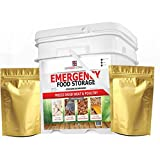 "The BEST Emergency Food ""My Food Storage"" Gourmet Freeze Dried Meats (60 Serving) - Freeze Dried Diced Beef - Freeze Dried Chicken - Freeze Dried Sausage Crumbles - Freeze Dried Seasoned Beef Crumbles"