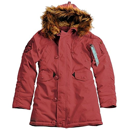 Alpha Industries - Explorer Wmn Frauen Winterjacke weinrot/burgundy