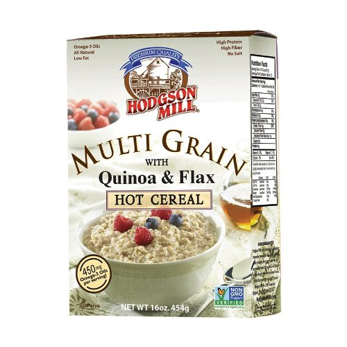 Hodgon Mill Mulit Grain Milled Flaxseed & Quinoa Hot Cereal (6x16oz)
