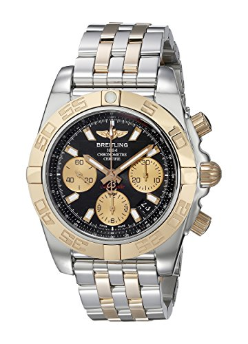 breitling-mens-41mm-two-tone-silver-and-gold-bracelet-steel-case-automatic-black-dial-watch-cb014012
