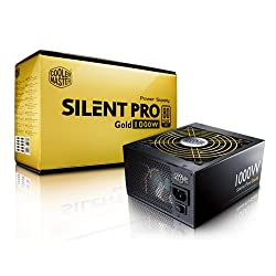 Cooler Master Silent Pro Gold (SPG) 1000 Watts Modular Power Supply