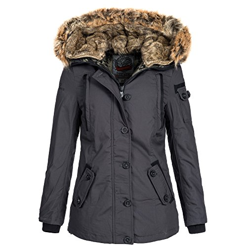 Urban Surface Damen Daunen Winterjacke