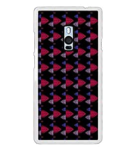 Colourful Pattern 2D Hard Polycarbonate Designer Back Case Cover for OnePlus 2 :: OnePlus Two :: One +2