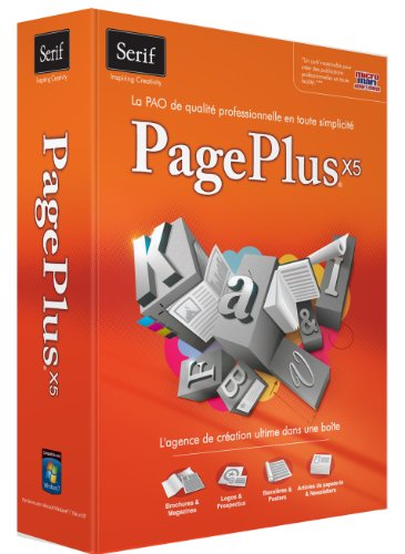 Serif PagePlus X5 – English/French (bilingual software)