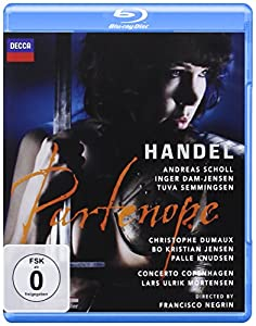 Partenope: Det Kongelige Teater (Mortensen) [Blu-ray]