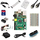 Raspberry Pi Ultimate Starter Kit -- Includes Raspberry Pi Board + 11 Essential Accessories