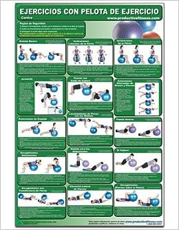Ejercicios con pelota de ejercicio Centro - Cartel - Body