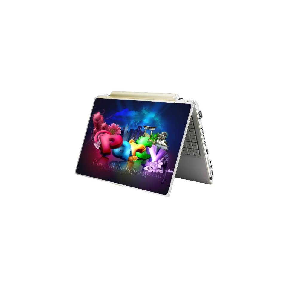 Bundle Monster Laptop Notebook Skin Sticker Cover Art Decal   12 14 15   Fit HP Dell Asus Compaq   Party All Night Long