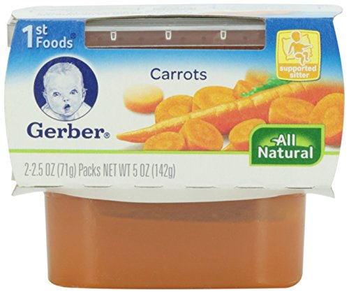 Gerber Natureselect 1St Foods Carrots front-60054