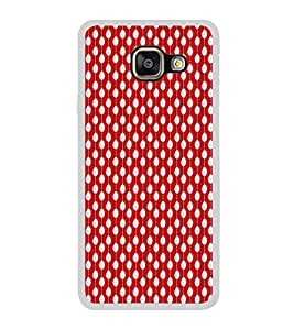 ifasho Animated Pattern design in pearl Back Case Cover for Samsung Galaxy A7 (2016)