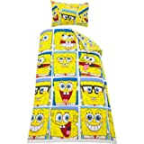 Sparkling SpongeBob SquarePants Framed Rotary Duvet Cover Set-Single with accompanying HSB Air Freshener
