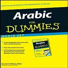 Arabic For Dummies: Audio Set Audiobook by David F. DiMeo Narrated by Osama Abu Eledum, Becky Wilmes