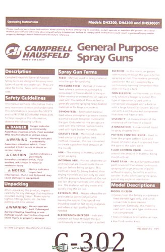 campbell hausfeld spray gun manual