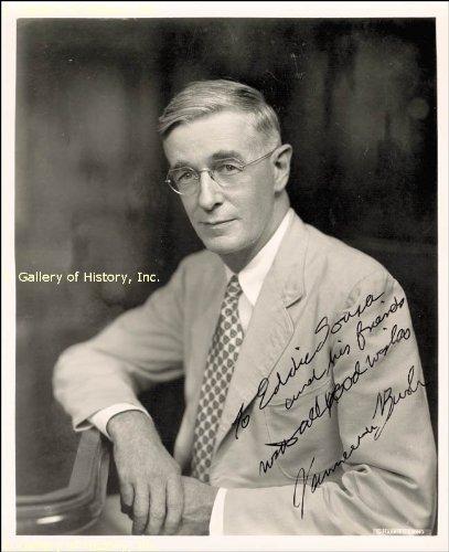Vannevar Bush - Inscribed Photograph Signed