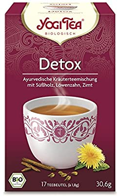 YogiTee Bio Yogi Tea Detox Bio (1 x 17 Btl) von Golden Temple KIT B.V. - Gewürze Shop