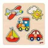 Steckpuzzle Meine Reise, goki GOKI 57547 von Gollnest & Kiesel