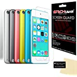 [Pack of 3] TECHGEAR® Apple iPod Touch 5 / 5G / 5th Generation / (6GB 32GB 64GB) CLEAR LCD Screen Protector Covers