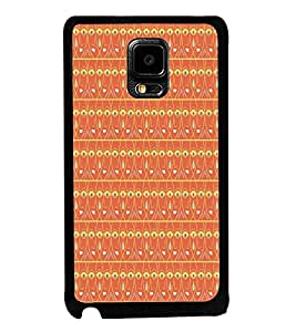 Fuson Premium 2D Back Case Cover Lord Durga Pattern With Pink Background Degined For Samsung Galaxy Note Edge::Samsung Galaxy Note Edge N915