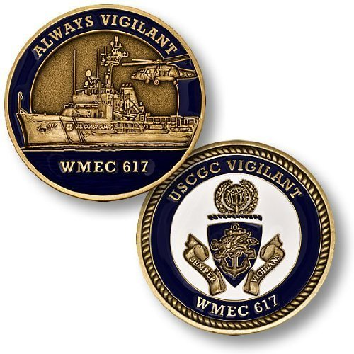 Coast Guard Cutter Vigilant Challenge Coin