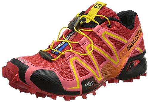 Salomon Donna Speedcross 3 Scarpe da trail running rosso Size: 39 1/3