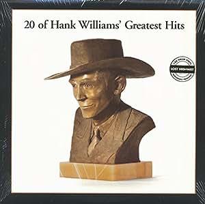 Hank Williams 20 Of Hank Williams Greatest Hits Vinyl