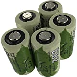 CR2 Lithium Ion Battery 3V batteries (Pack of 5)